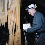 Il grande regista tedesco in un momento di Cave of Forgotten Dreams di Werner Herzog (Francia, Germania, UK, USA, Canada 2010)