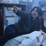 Un'immagine tragica da Inuyashiki di Sato Shinsuke (Giappone, 2018)