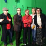 Roberto Benigni (al centro) tra gli intervistati nel documentario La lucida follia di Marco Ferreri di Anselma Dall'Olio (Italia, 2017)