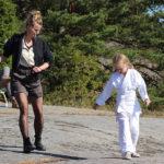 Passi di danza durante The Girl, the Mother and the Demons di Suzanne Osten (Flickan, mamman och demonerna, Svezia 2016)