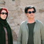 Behnaz Jafari e il regista in un momento di 3 Faces di Jafar Panahi (Iran, 2018)