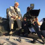 Il regista sul set di Due soldati di Marco Tullio Giordana (Italia, 2017)
