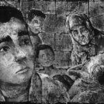 Immagini animate nel corso del documentario La strada dei Samouni di Stefano Savona (Italia, Francia 2018)