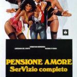 """La """"famigerata"""" locandina di Pensione Amore - serVizio completo di Luigi Russo (Italia, 1979)"""