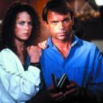 Nicole Kidman e Sam Neill, coppia in lutto nel corso di Ore 10: calma piatta di Phillip Noyce (Dead Calm, Australia 1989)