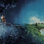 Un'immagine dal mediometraggio animato Goshu il violoncellista di Isao Takahata (Giappone, 1982)