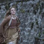 Elle Fanning in fuga durante Mary Shelley - Un amore immortale di Haifaa Al-Mansour (UK, USA 2017)