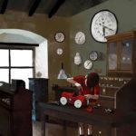 Un' immagine tratta dal corto d'animazione Mercurio di Michele Bernardi (Italia, 2018)