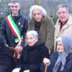 Al centro, Pierluigi Giorgio in Molise.