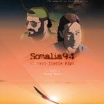 La locandina del mediometraggio animato Somalia94 - Il caso Ilaria Alpi di Marco Giolo (Italia, 2017)