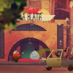 Una colorata immagine dal corto d'animazione The N.A.P. di Adolfo Di Molfetta (Italia, 2017)