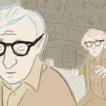 Woody Allen si sdoppia nel cortometraggio d'animazione Woody & Woody di Jaume Carrió (Spagna, 2017)