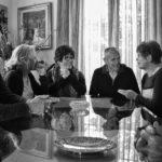 Riunione di gruppo nel documentario La Spartenza di Salvo Cuccia (Italia, 2018)
