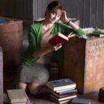 Un'assorta Emily Mortimer, protagonista de La casa dei libri di Isabel Coixet (The Bookshop, UK, Spagna, Germania 2017)