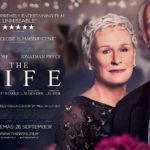 Il manifesto promozionale di The Wife - Vivere nell'ombra di Björn Runge (UK, Svezia, USA 2017)