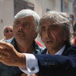 Dino Abbrescia e Sergio Rubini in un'immagine tratta da Il bene mio di Pippo Mezzapesa (Italia, 2018)