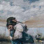 Una poetica immagine tratta da Il vizio della speranza di Edoardo De Angelis (Italia, 2018)