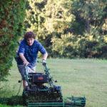 Blake Cooper al lavoro nel corso di Measure of a Man di Jim Loach (USA, 2018)