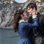 Momenti romantici tra i personaggi principali di Anna Karenina: Vronsky's Story di Karen Sachnazarov (Russia, 2017)