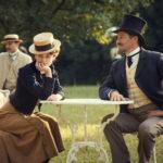 Keira Knightley e Dominic West in un momento di Colette di Wash Westmoreland (UK, USA 2018)