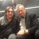 Il regista tedesco Eckhart Schmidt con il coautore dell'intervista, il nostro caporedattore Stefano Coccia