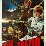 La locandina originale di Anno Zero - Guerra nello spazio di Alfonso Brescia (Italia, 1977)