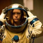Mia Goth astronauta in High Life di Claire Denis (Francia, Germania, UK, USA 2018)