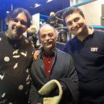 Ancora Nichetti, attorniato dai nostri Stefano Coccia e Stefano Berardo