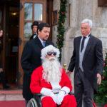 Un'altra imamgine tratta da Natale a 5 stelle di Marco Risi (Italia, 2018)