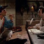 I due registi ed interpreti in un'immagine tratta da Non ci resta che piangere di Massimo Troisi e Roberto Benigni (Italia, 1984)
