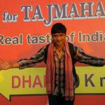 Segnaletica indiana in T For Taj Mahal di Kireet Khurana (India, 2018)