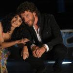 Serena Rossi e Maurizio Lastrico in un momento di Io sono Mia di Riccardo Donna (Italia, 2019)