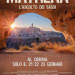 La locandina del documentario Mathera di Francesco Invernizzi e Vito Salinaro (Italia, 2018)