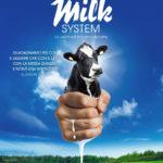 La locandina del documentario The Milk System di Andreas Pichler (Das System Milch, Italia, Germania 2017)