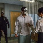 Un'inquietante immagine tratta da The Punisher, serie tv creata da Steve Lightfoot (USA, 2017)