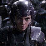 Rosa Salazar è la pugnace protagonista di Alita: Angelo della battaglia di Robert Rodriguez (Alita: Battle Angel, USA, Canada, Argentina 2019)