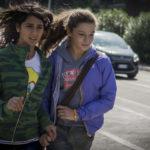 Le giovanissime protagoniste in un momento de La fuga di Sandra Vannucchi (Italia, Svizzera 2017)