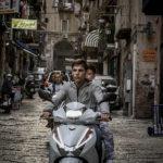 Per le strade di Napoli durante La paranza dei bambini di Claudio Giovannesi (Italia, 2019)