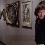 David Hemmings in un momento chiave di Profondo rosso di Dario Argento (Italia, 1975)