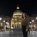 Claudia Gerini, nel cast della seconda stagione della serie tv Suburra (Italia, 2019)