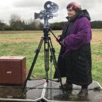 Un'immagine quantomai simbolica tratta dal documentario Varda par Agnès di Agnès Varda (Francia, 2019)
