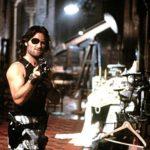 Ancora Kurt Russell, in un'immagine dal set di 1997: fuga da New York di John Carpenter (Escape From New York, USA, UK 1981)