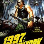 La locandina italiana di 1997: fuga da New York di John Carpenter (Escape From New York, USA, UK 1981)