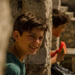 Momenti d'infanzia nel corso di Borders, Raindrops di Vlastimir Sudar e Nikola Mijović (Serbia, Bosnia, Montenegro 2018)
