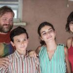 Foto di gruppo per il cast di C'è tempo di Walter Veltroni (Italia, 2019)