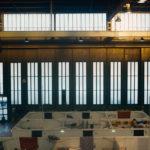 Gli interni dell'aeroporto Tempelhof a Berlino nel documentario Central Airport THF di Karim Aïnouz (Germania, Francia, Brasile 2018)