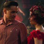 Colin Farrell ed Eva Green in un momento di Dumbo di Tim Burton (USA, 2019)
