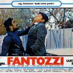 Un emblematico manifesto promozionale di Fantozzi di Luciano Salce (Italia, 1975)