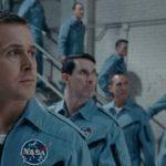 Astronauti schierati durante Il primo uomo di Damien Chazelle (First Man, USA, Giappone 2018)