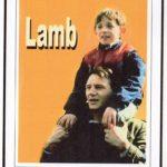 Una locandina d'epoca di Lamb di Colin Gregg (UK, 1985)